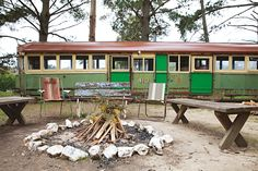 Angela's Quirky Little Shack, Caravan, Tram