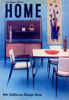 Jerome and Evelyn Ackerman. Upon moving to sunny California, the design duo from Detroit became known for cheerful ceramics, textiles, and wood carvings that came to characterize midcentury-modern West Coast style. The creative direction of their work grew out of the principles of the Bauhaus, a design