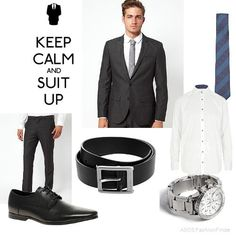 Suited and Booted! Keep your cool, look smart for your interview. This look is great for office workers and account managers. You need to have cool style and look good in front of clients!