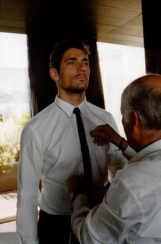 David Gandy Tumblr — #TBT David Gandy'The Art of Tailoring' for...