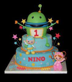 ILA....Team Umizoomi cake....for Cade...so cute.