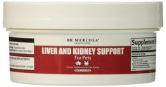 Dr. Mercola Liver and Kidney Support for Pets - 1.4 oz (39g) *** See this great product.