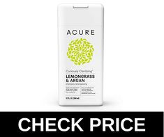 ACURE is the best sulfate free clarifying shampoo and also cheap. Sulfate Free Clarifying Shampoo, Argan Shampoo, Oily Hair, Lemon Grass, Good Things, Bottle, Oil Slick Hair, Flask