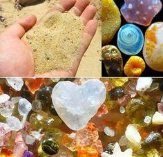 DE TODO UN POCO: Naturaleza sorprendente: Asi luce la arena bajo un...