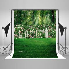 Floral 6.5x10 FT Photo Backdrops,Flowers with Little Hearts in The Middle Romantic in Love Theme Background for Photography Kids Adult Photo Booth Video Shoot Vinyl Studio Props