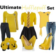 A fashion look from April 2012 featuring crew-neck shirts, Karen Millen and rock shirts. Browse and shop related looks. Harry Potter Dress Up, Mode Harry Potter, Harry Potter Style, Harry Potter Outfits, Pretty Outfits, Cute Outfits, Fandom Outfits, Themed Outfits, Other Outfits