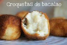 Atrapada en mi cocina: CROQUETAS DE BACALAO