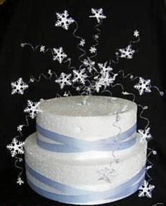 Snowflake Winter Wedding Cake Topper Decoration | Home, Furniture & DIY, Wedding Supplies, Cake Toppers | eBay!