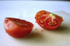 Fresh tomato cream sauce
