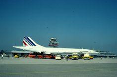 Air France #Concorde am Blue danube airport linz
