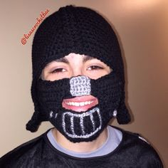 A personal favorite from my Etsy shop https://www.etsy.com/listing/253125247/darth-vader-inspired-crochet-hat