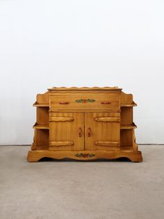 RESERVE 1940s Monterey Style Buffet Cabinet / Vintage By 86home