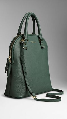 The Medium Bloomsbury in Grainy Leather from Burberry