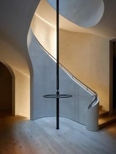 Basement stairs - There is no shortage of stairway design ideas to make your stairway a charming part of your home. From grand staircases and Open Basement Stairs, Open Staircase, Staircase Design, Staircase Ideas, Basement Ideas, Interior Stairs, Interior Architecture, Interior Design, Stair Elevator
