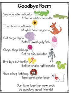 Goodbys poem