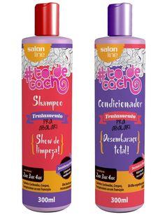 Shampoo e Condicionador - Tô de Cacho - Salon Line