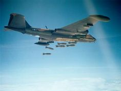 B-57 dropping bombs - Martin B-57 Canberra - Wikipedia, the free encyclopedia
