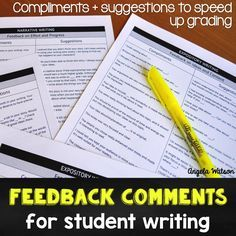 10 time-saving tips for grading student writing: Grading students' essays and stories can be extremely time-consuming. Here are some ideas for grading student writing more quickly and easily (and making the experience more meaningful for students).