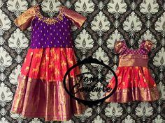 Frocks For Girls, Dresses Kids Girl, Kids Outfits, Kids Indian Wear, Kids Ethnic Wear, Baby Girl Birthday Dress, Kids Blouse Designs, Kids Dress Wear, Baby Dress Design