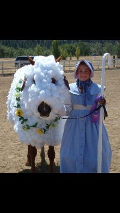 Horse costume / Little Bo Peep