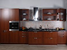 beauteous-modular-kitchen-design-ideas-with-straight-kitchen-cabinets-with-brown-color-and-combine-with-black-marble-countertops-also-built-in-oven-and-frosted-door-wall-mount-kitchen-cabinets-also-mo.jpg (640×480)