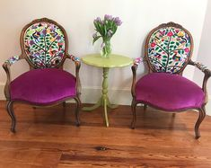 Custom Chair Design by ChairWhimsy on Etsy