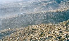 Overpopulation, overconsumption-in pictures-Mexico City sprawling settlements