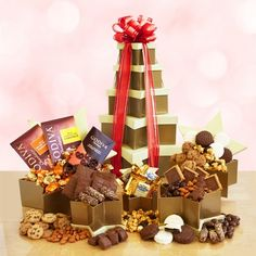La Bella Baskets and Gifts is a US leader in Gift Baskets and Personalized Gifts. With a wide selection of gift baskets and personalized gifts plus an amazing multi-level marketing opportunity we truly love our work! Gourmet Gift Baskets, Gourmet Gifts, Chocolate Covered Oreos, Chocolate Chip Cookies, Almond Roca, Christmas Gift Baskets, Chocolate Gifts, Sweet, Gift Ideas