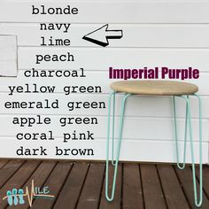 Imperial purple goes with