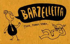 Learning Italian Language ~ Barzelletta (joke, funny story) IFHN