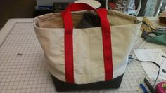DIY Canvas Tote with Reinforced Bottom