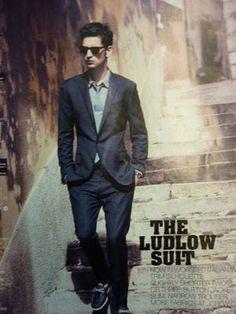 J.Crew Ludlow suit