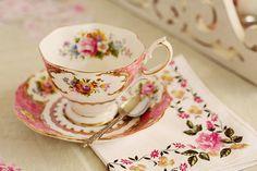 porcelain tea cup.
