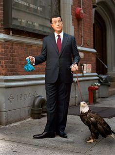 Stephen Colbert, by Martin Schoeller