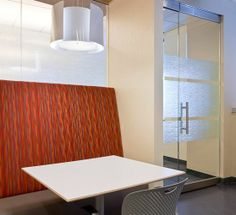 Tie pendant by Innermost for CH2M Hill Interior Design by Elsy Studio