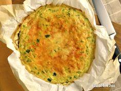Zöldborsós sütőben sült omlett (frittata) - Receptek   Ízes Élet - Gasztronómia a mindennapokra