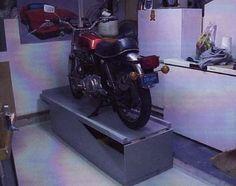 Wood bike stand/lift plans