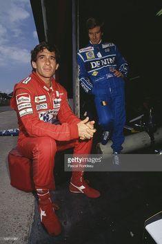 Ayrton Senna and Thierry Boutsen Formula 1, Gerhard Berger, Australian Grand Prix, F1 Drivers, F1 Racing, Mercedes Amg, Race Cars, Champion, Unique