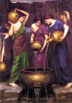 John William Waterhouse - The Danaïdes