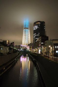 Tokyo SkyTree from Jukkenbashi bridge