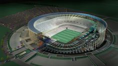 The First #NetZero Energy Stadium Will Be In The Next World Cup in Brazil #in