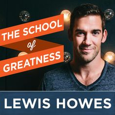 Lewis Howes is an author, Lifestyle Entrepreneur, former pro athlete and world record holder in football. The goal of the School of Greatness is to share inspiring stories from the most brilliant busi