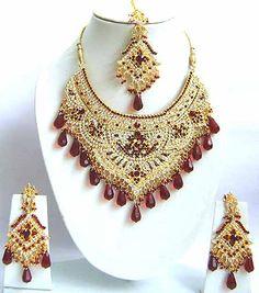 Diamond Bridal Jewelry Set JVS-1668