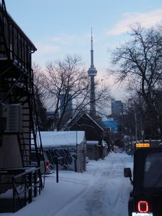 Taken from College St - Toronto