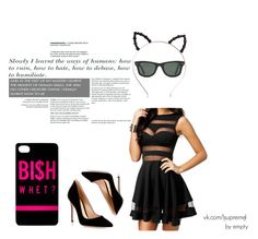 s.b. by peleisgod on Polyvore featuring мода, Gianvito Rossi and Ray-Ban