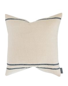 Abigail Silk Stripe Pillow Cover – McGee & Co.