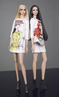 Fashion royalty Eden repaint and reroot hair by Rimdoll  you receive Eden doll , box , stand , white dress , earing Thank you for watching.  Rimdoll