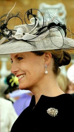 The Countess of Wessex attends garden party celebrating 100th anniversary of Woman's League.  June 2 2015