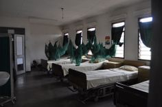 Inside look of the Nandumbo Health Centre - Row of Patient Hospital Beds #Malawi #HELPchildren #HealthCentre