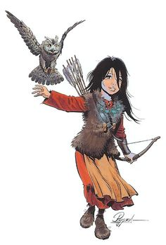 Louve fille de Thorgal